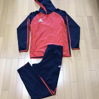 アディダス(adidas)の未使用 adidas BASIC サッカー セットアップ サイズO 上下(ジャージ)