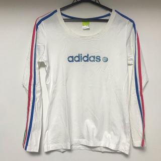 アディダス(adidas)のadidas❤︎アディダス❤︎長袖Tシャツ❤︎美品❤︎かわいい❤︎(Tシャツ(長袖/七分))