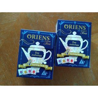 オーリエンス ティーアンソロジー 4種各1包入り X2個 (茶)
