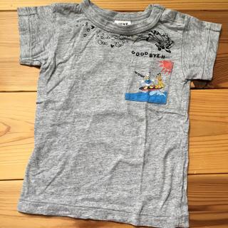 ジャンクストアー(JUNK STORE)のジャンクストア ドナルドダックTシャツ 90cm(Tシャツ/カットソー)