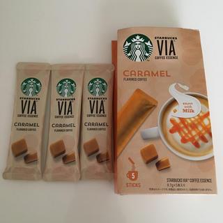 スターバックスコーヒー(Starbucks Coffee)のスターバックス VIA キャラメル 3本(コーヒー)