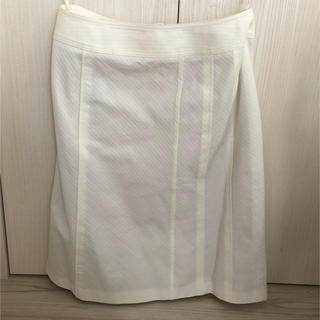 クリアインプレッション(CLEAR IMPRESSION)のCLEAR IMPRESSION 白 スカート(ひざ丈スカート)