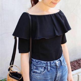 IENA - IENA オフショルダーデザインTシャツ