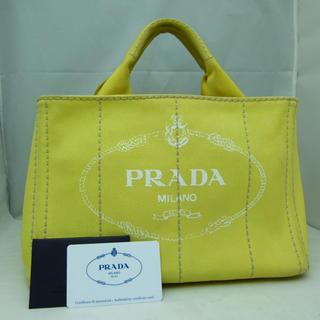 PRADA - ☆本日値下げ!☆PRADA プラダ カナパ ハンドバッグ S 付属品有