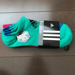 アディダス(adidas)の新品★adidas ソックス 3足組 23-25cm アディダス 靴下(靴下/タイツ)