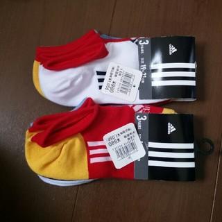 アディダス(adidas)のアディダス ソックス 19~21㎝ 6足(靴下/タイツ)