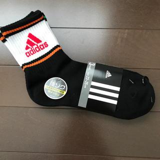 アディダス(adidas)の新品★adidas スポーツソックス 3足組 23-25cm アディダス 靴下(靴下/タイツ)