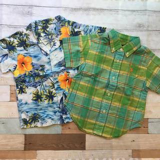 ラルフローレン(Ralph Lauren)のラルフローレン シャツ 2枚セット アロハ 80 90(シャツ/カットソー)