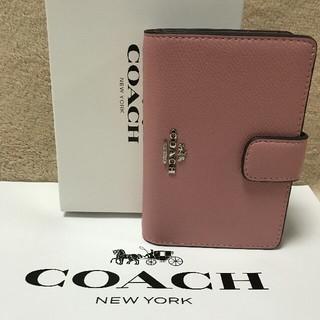 COACH - 新品COACHコーチ二つ折り財布で国内発送 F53436