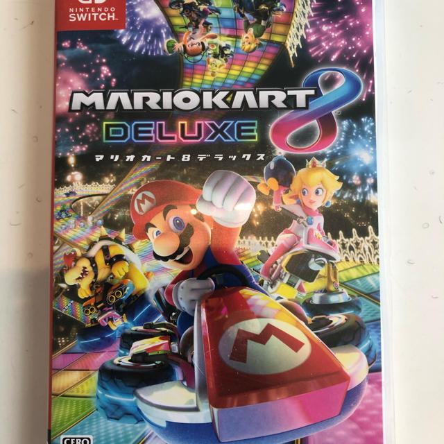 Nintendo Switch(ニンテンドースイッチ)のマリオカート8デラックス エンタメ/ホビーのゲームソフト/ゲーム機本体(家庭用ゲームソフト)の商品写真