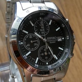 セイコー(SEIKO)の☆新品 ☆保証書付き セイコー クロノグラフ(腕時計(アナログ))