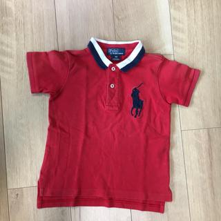 Ralph Lauren - ラルフローレン 半袖 ポロシャツ 90 赤