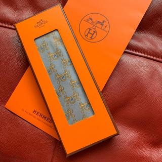 Hermes - 中古🐴🧡HERMES🧡シルク100% ネクタイ
