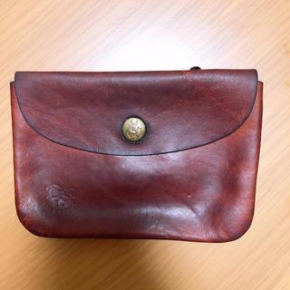 イルビゾンテ(IL BISONTE)のイルビゾンテ ポーチ ミニ財布(ポーチ)