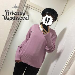 ヴィヴィアンウエストウッド(Vivienne Westwood)の【VivienneWestwood MAN】オーブ刺繍 ニット(ニット/セーター)