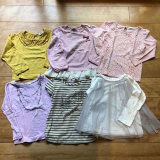 エニィファム(anyFAM)の女の子 長袖シャツ まとめ売り(Tシャツ/カットソー)