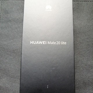 ANDROID - 送料込 Huawei mate 20 lite ブラック