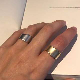 ユナイテッドアローズ(UNITED ARROWS)のマットリング(リング(指輪))
