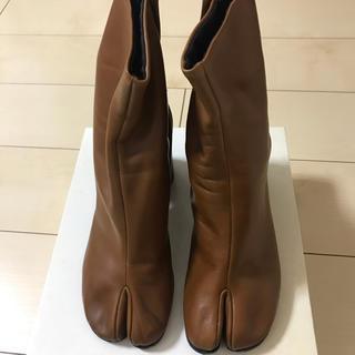 マルタンマルジェラ(Maison Martin Margiela)のマルジェラ 足袋ブーツ ブラウン サイズ38(ブーツ)