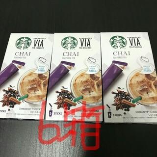 スターバックスコーヒー(Starbucks Coffee)のスタバ VIA チャイ 6箱 スターバックス(コーヒー)