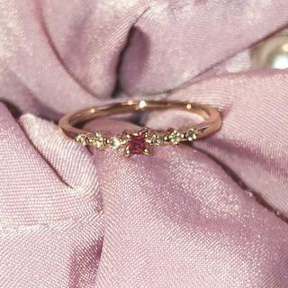 ノジェス(NOJESS)のルビー ダイヤモンド リング10K (リング(指輪))