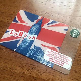 Starbucks Coffee - スターバックスカード スタバカード ロンドン イギリス 海外 限定