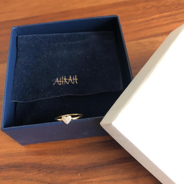 AHKAH(アーカー)の専用 売り切れました レディースのアクセサリー(リング(指輪))の商品写真