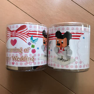 Disney - 新品☆ディズニー☆ナノブロック☆ミッキー☆ウェディング☆新郎☆ミニブロック