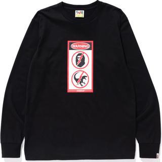 アベイシングエイプ(A BATHING APE)のBAPE×JURASSIC WORLD ロングtee(Tシャツ/カットソー(七分/長袖))