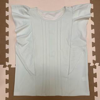 ジーユー(GU)のGU フリルシャツ(シャツ/ブラウス(半袖/袖なし))