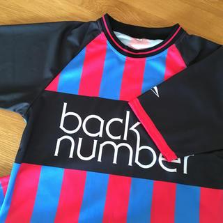 バックナンバー(BACK NUMBER)のback number 会員限定サッカーシャツ Mサイズ(ミュージシャン)