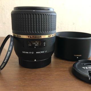 タムロン(TAMRON)のタムロン SP AF 60mm F2 DiⅡ MACRO ニコンマウント(レンズ(単焦点))