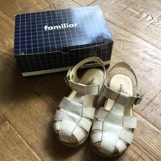 familiar - ファミリア レザーサンダル 17