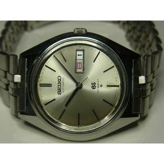 セイコー(SEIKO)のSEIKO グランドセイコー 紺 5645 GS 25石 動品(腕時計(アナログ))