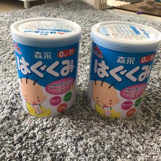モリナガニュウギョウ(森永乳業)のはぐくみ 粉ミルク3缶(その他)