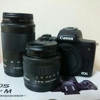 Canon - Canon EOS Kiss M ダブルレンズキット、EOSKissM