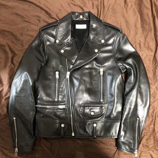 サンローラン(Saint Laurent)の正規品 サンローランパリ saint laurent ライダースジャケット 50(ライダースジャケット)