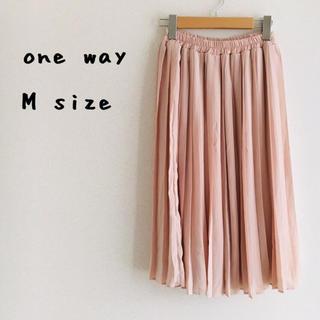 ワンウェイ(one*way)のOneway プリーツスカート (ひざ丈スカート)