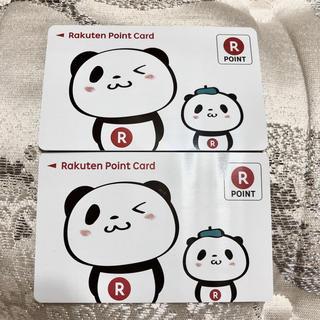 ラクテン(Rakuten)の楽天ポイントカード Rポイントカード お買いものパンダ(ショッピング)
