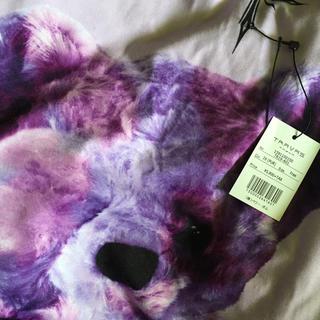 ミルクボーイ(MILKBOY)のTRAVAS TOKYO tシャツ クマ パープル(Tシャツ/カットソー(半袖/袖なし))
