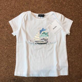 BeBe - 新品未使用 べべ Tシャツ マリン リボン ファミリア プチバトー タルティーヌ
