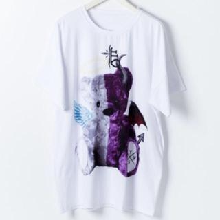 ミルクボーイ(MILKBOY)のTRAVAS TOKYO tシャツ 天使と悪魔 クマ 白黒セット(Tシャツ/カットソー(半袖/袖なし))