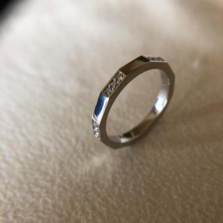 セリーヌ(celine)のセリーヌ/pt950/ダイヤエタニティリング(リング(指輪))