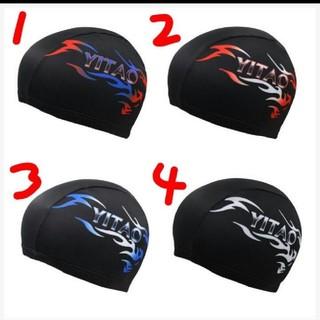 新品スイミングキャップ、水泳帽子Fサイズ既日発送(水着)