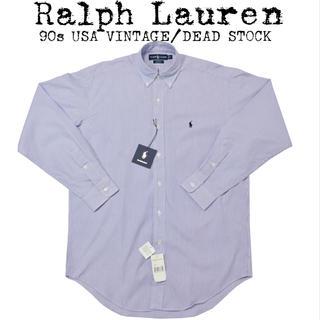 Ralph Lauren - ★新品★Ralph Lauren★ラルフローレン★90s★ストライプシャツ★