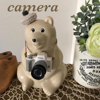 ミニチュア カメラ / ホワイト