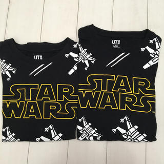 UNIQLO - ユニクロスターウォーズTシャツ2枚セット140&150
