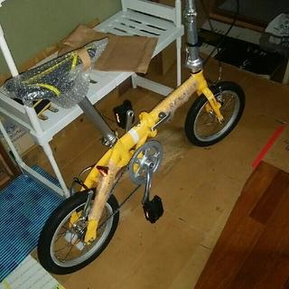 ルノー折り畳み自転車  8.5キロ 送料こみ