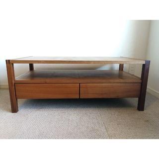 広松木工 リポーゾ センターテーブル ウォールナット