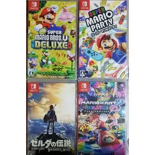 Nintendo Switch - 【新品未開封】Nintendo Switchパッケージ版ソフト4本セット